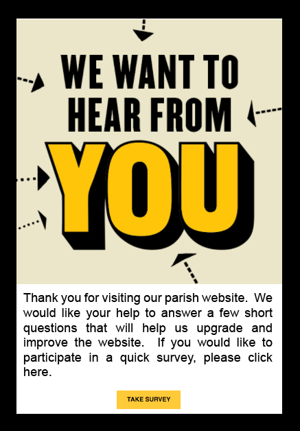 Parish Website Improvement Survey